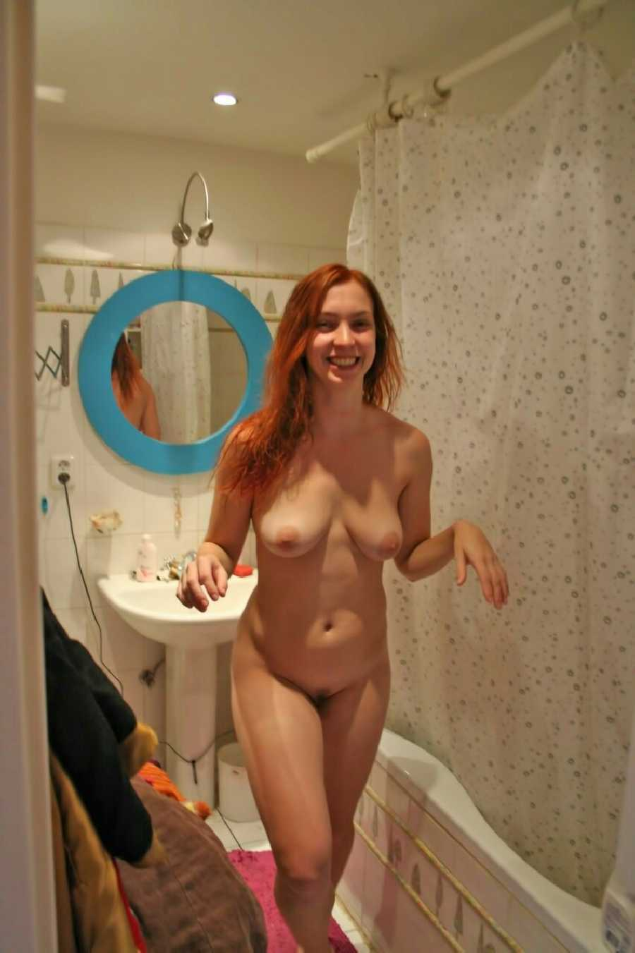 naked women in a tub